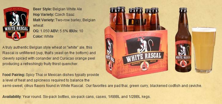 avery white rascal description