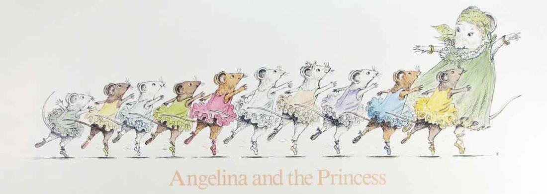 Angelina Ballerina Original Book
